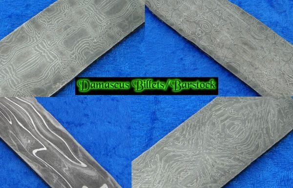 Damascus Billets & Barstock